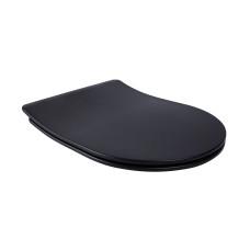 Сиденье для унитаза Qtap (Robin, Scorpio) с микролифтом Slim QT99U184UF450MB