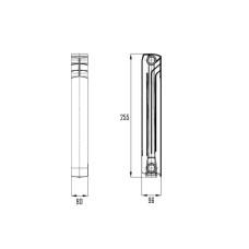 Радиатор биметаллический Thermo Alliance Bi-Ferrum 200/96