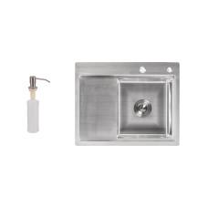 Кухонная мойка Lidz H6350R Brush 3.0/0.8 мм (LIDZH6350RBRU3008)