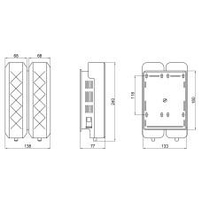 Дозатор для жидкого мыла Qtap Davcovac mydla DM350CP2