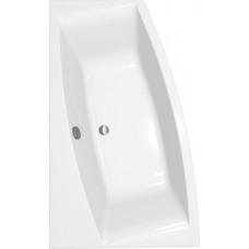 Ванна акриловая CERSANIT VIRGO MAX 150х90 левая с ножками и креплением