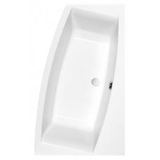 Ванна акриловая CERSANIT VIRGO MAX 150х90 правая с ножками и креплением