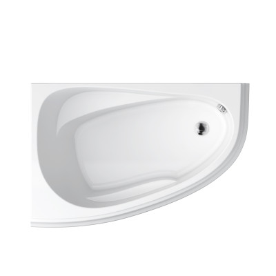 Ванна акриловая CERSANIT JOANNA NEW 140х90 левая с ножками и креплением
