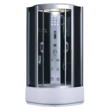 Гидробокс Fabio SW-8809, 90*90(40) 215, рама сатин, стекло серое