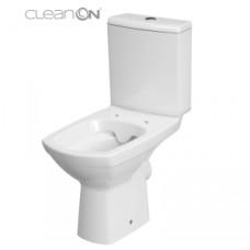 Унитаз CERSANIT CARINA Clean ON 011 3/5 сидение дюропласт soft clouse