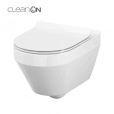 Подвесной унитаз Cersanit CREA CLEAN ON овальный (без сидения)