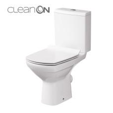 Унитаз CERSANIT CARINA Clean ON 011 3/6 дюропласт soft clouse Slim