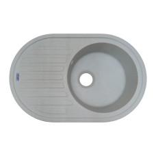 Мойка гранитная ARGO Albero 770x500x200 Светло-серая