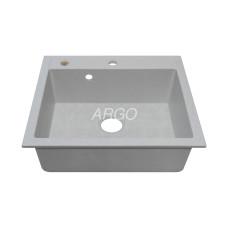 Мойка гранитная ARGO Cubo 590x495x200 Old stone