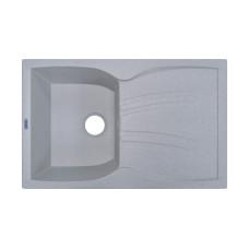 Мойка гранитная ARGO Medio 780x495x235 Светло-серая