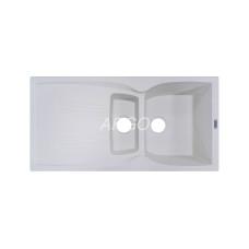 Мойка гранитная ARGO Medio Plus 975x495x230 Terracotta