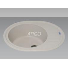 Мойка гранитная ARGO Ovale 620x500x200 Авена