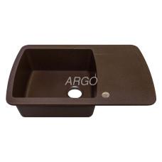 Мойка гранитная ARGO Premio 780x500x200 Коричневая