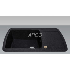 Мойка гранитная ARGO Premio 780x500x200 Чёрная