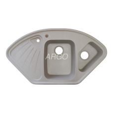 Мойка гранитная ARGO Trapezio 1060x575x190 Авена