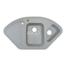 Мойка гранитная ARGO Trapezio 1045x575x190 Old stone