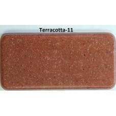 Мойка гранитная ARGO Angolo 1000x500x225 Terracotta