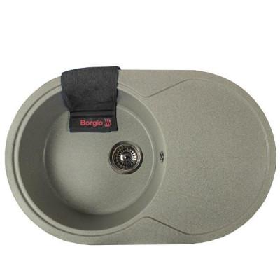 Мойка гранитная BORGIO OVC-775x500 Серый