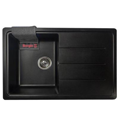 Мойка гранитная BORGIO PRC-780×500 Чёрная