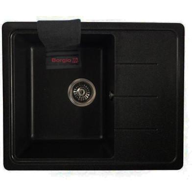 Мойка гранитная BORGIO PRM-620×500 Чёрная