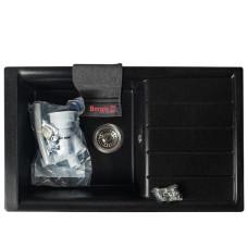 Мойка гранитная BORGIO PRM-790×500 Чёрная