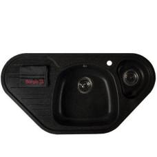 Мойка гранитная BORGIO TRC-960x500 Чёрная