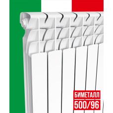 Радиатор отопления ITALCLIMA Forte 500/96 биметалл (10 секций)