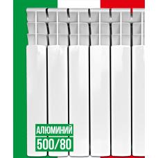 Радиатор отопления ITALCLIMA VETORE 500/80 алюминий (10 секций)
