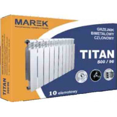 Радиатор отопления Marek TITAN 500/96 биметалл (10 секций)